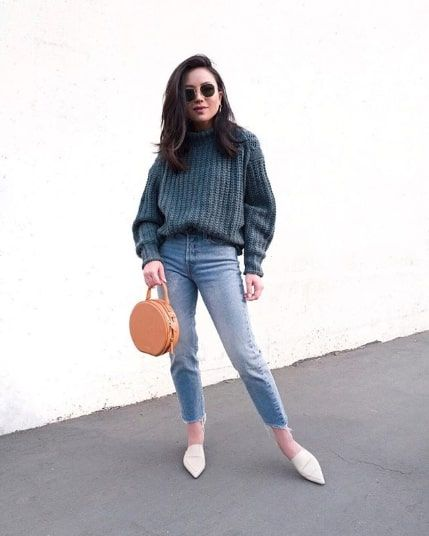 11 Cool Mom-Jean Outfits to Try This Winter | Who What We