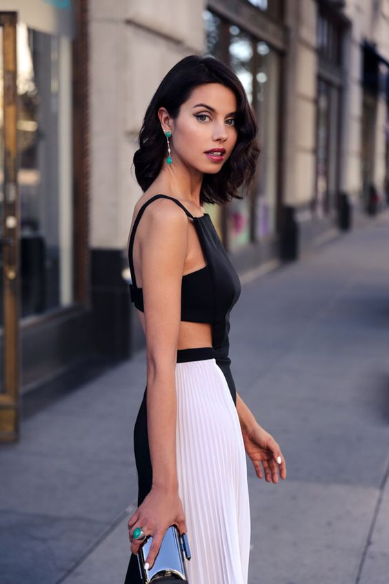 white cut out dress implores