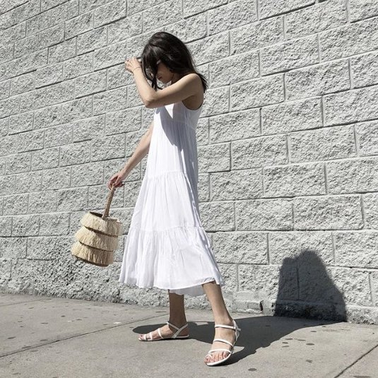 Top 15 White Lace Up Sandals Outfit Ideas: How to Dress .