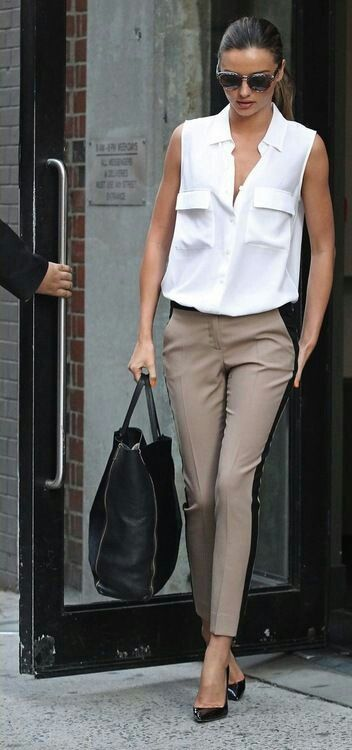 Nice chic wardrobe to energise your work day. Really needs the .