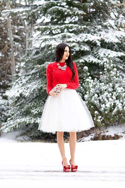 59 Cute Christmas Outfit Ideas | Page 2 of 6 | StayGlam | Cute .