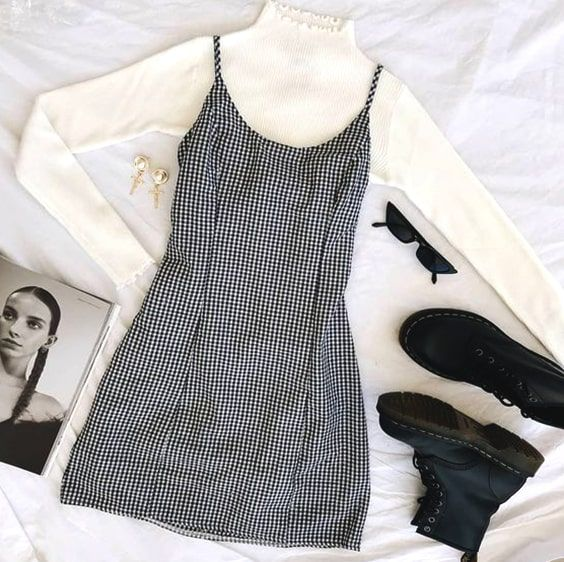 White Turtleneck Dress Outfit Ideas – kadininmodasi.org in 2020 .