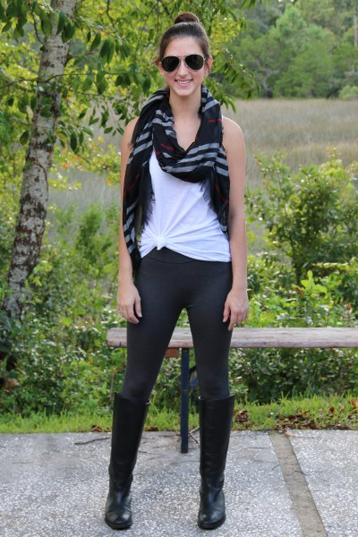 white breeches with vest