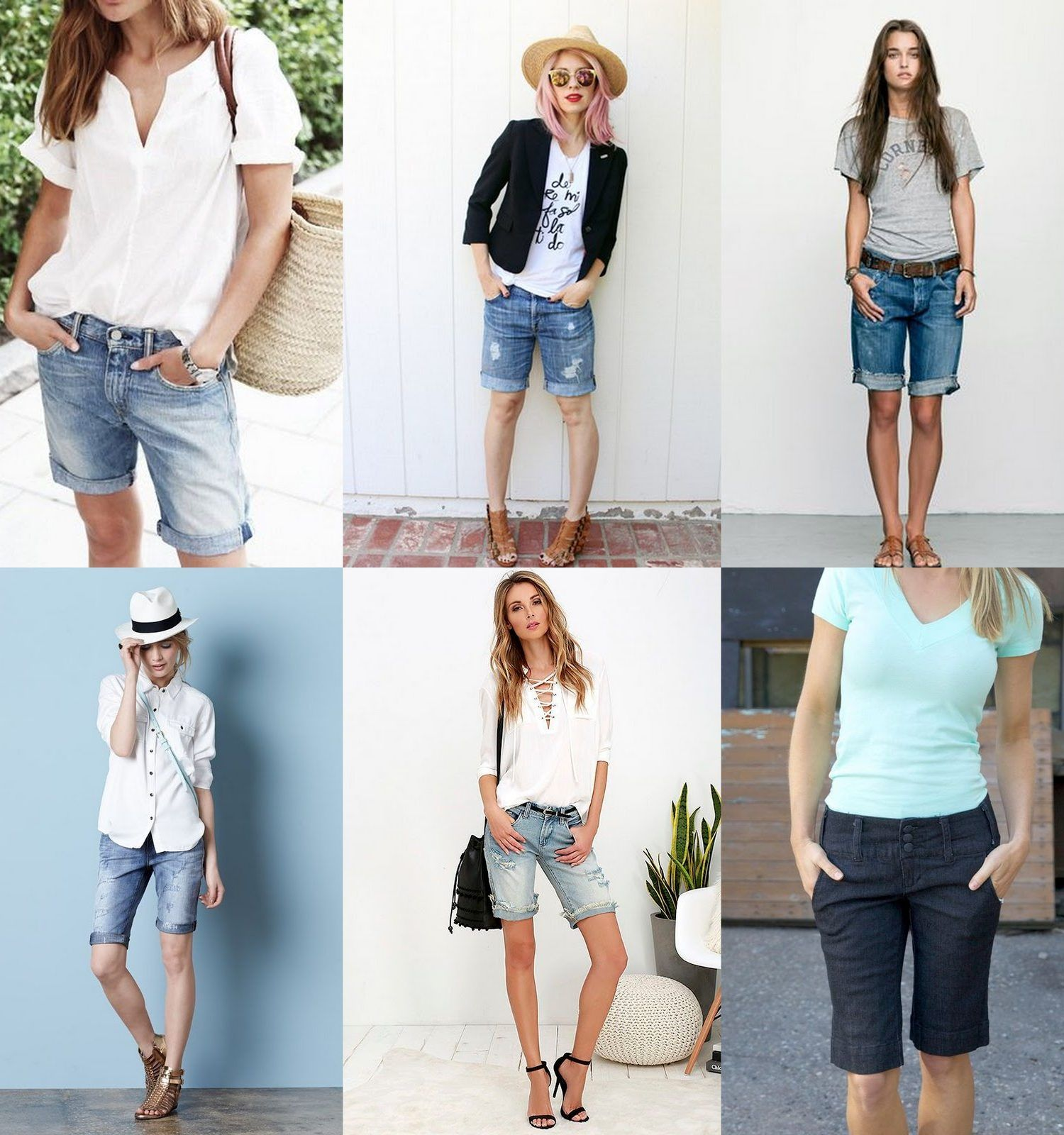Bermuda Shorts Outfit Ideas