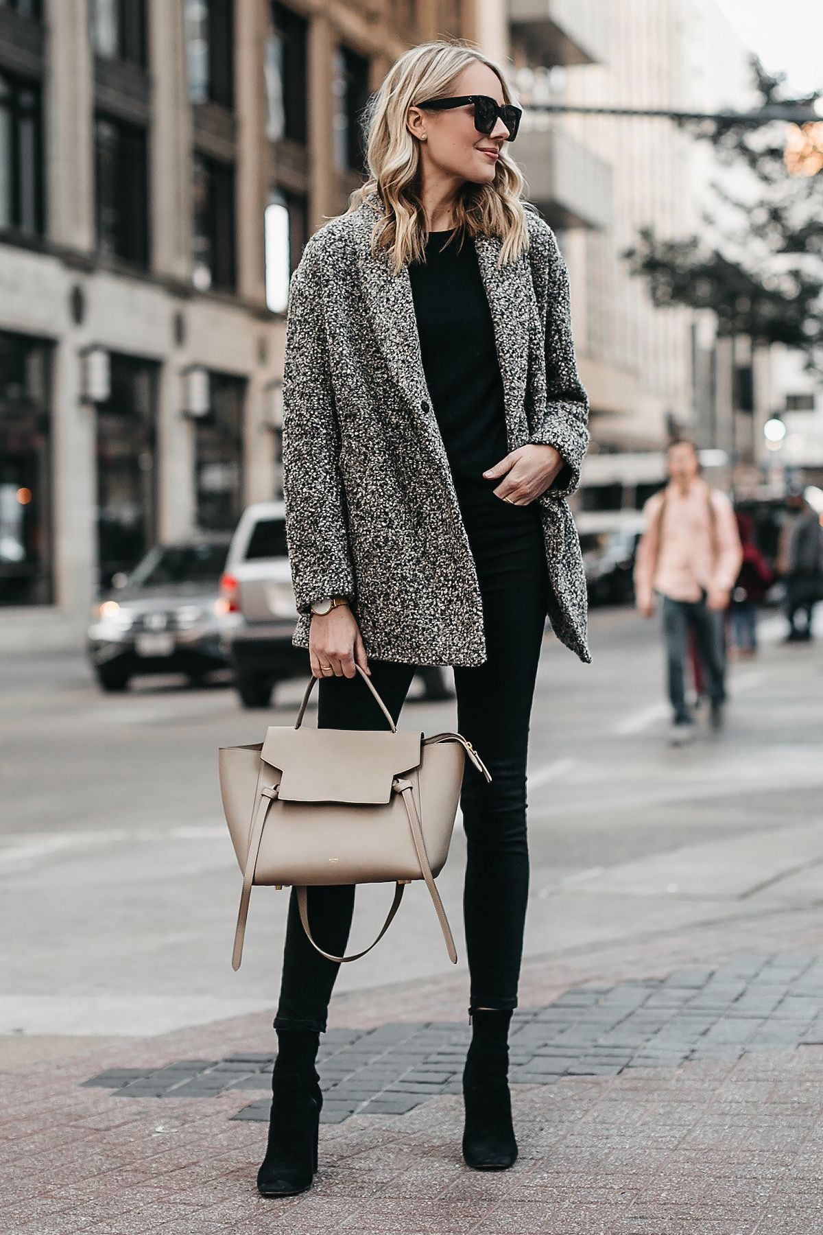 Boucle Coat Outfit Ideas