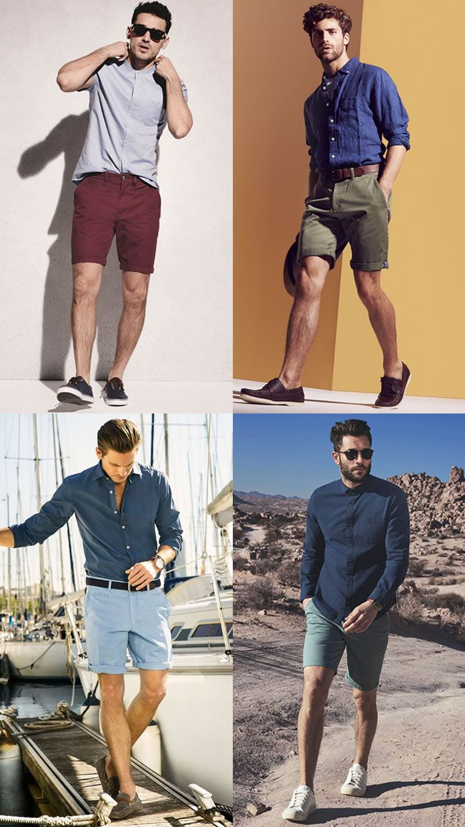 Chino Shorts Outfit Ideas