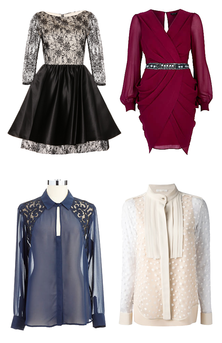 Cocktail Dress With Sleeves Outfit Ideas