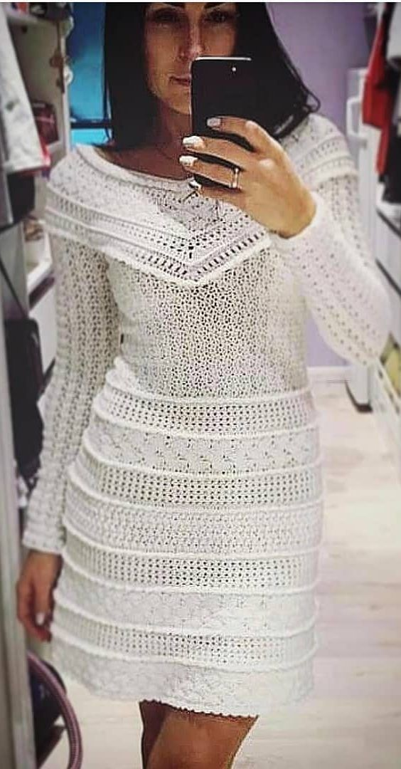 Crochet Dress Outfit Ideas