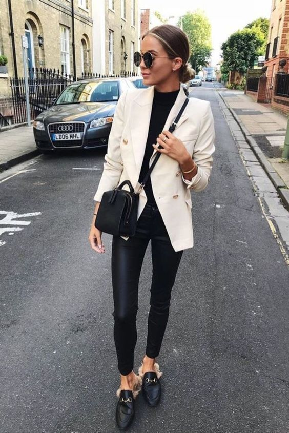 Double Breasted Jacket Outfit Ideas