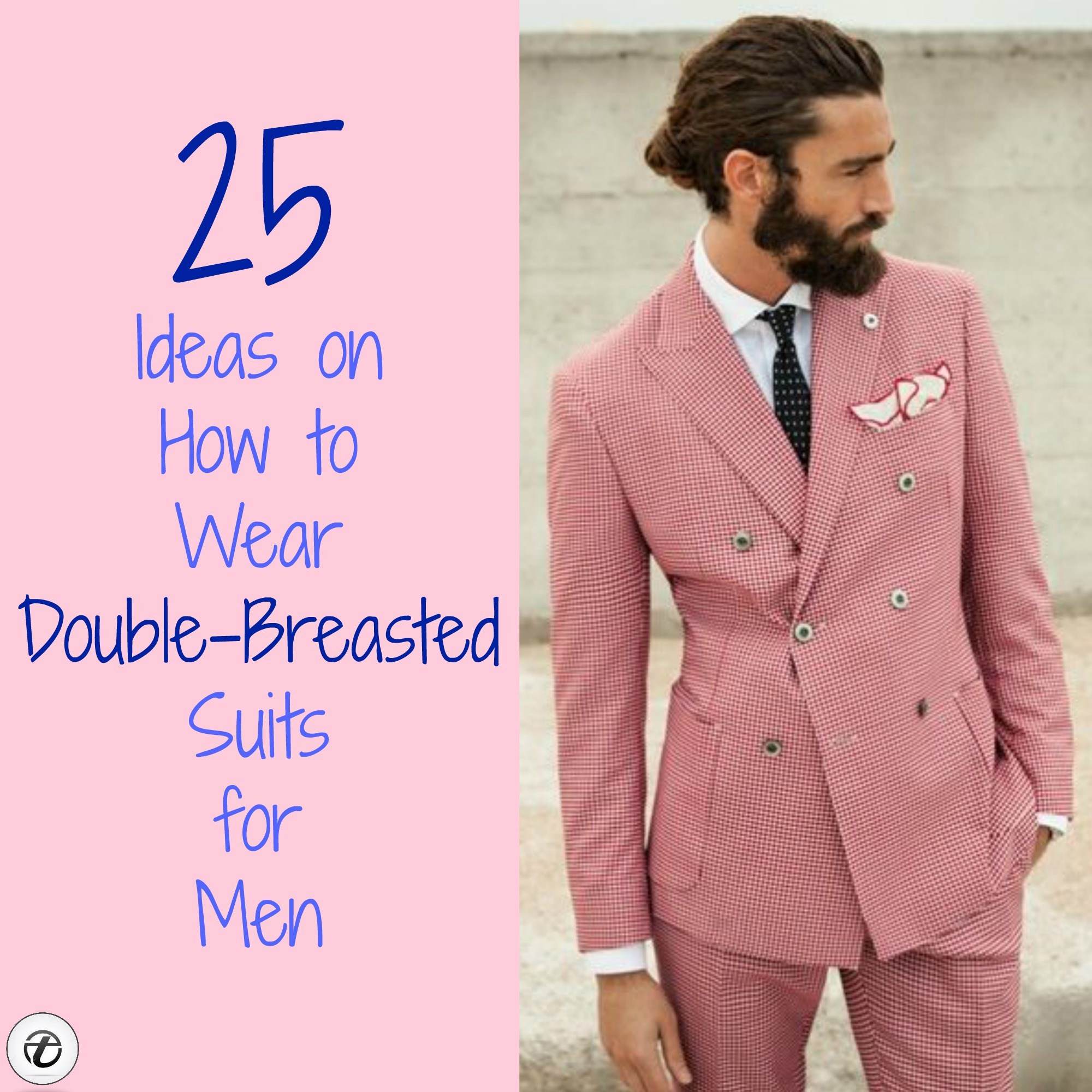 Double Breasted Suit Outfit Ideas