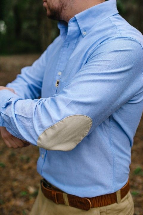 Elbow Patch Shirt Outfit Ideas
