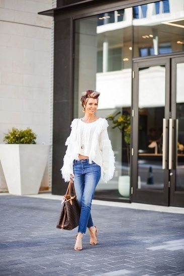 Fringe Sweater Outfit Ideas