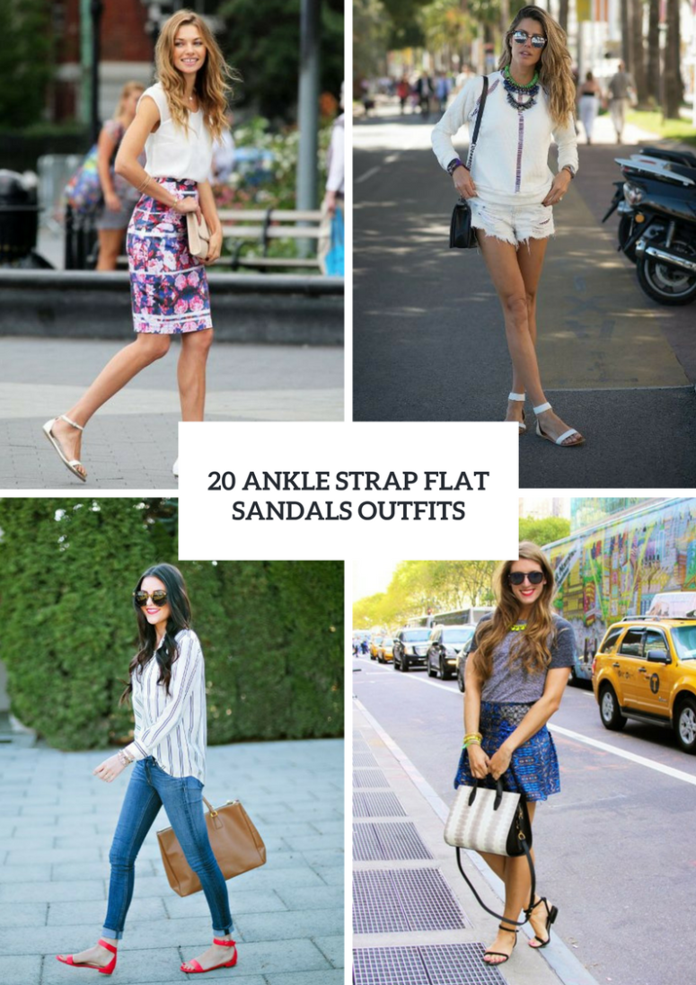 How To Style Ankle Strap Flats