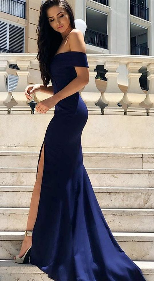 How To Style Blue Formal Dress