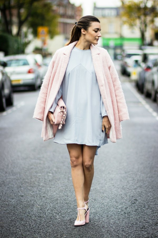 How To Style Blush Pink Heels