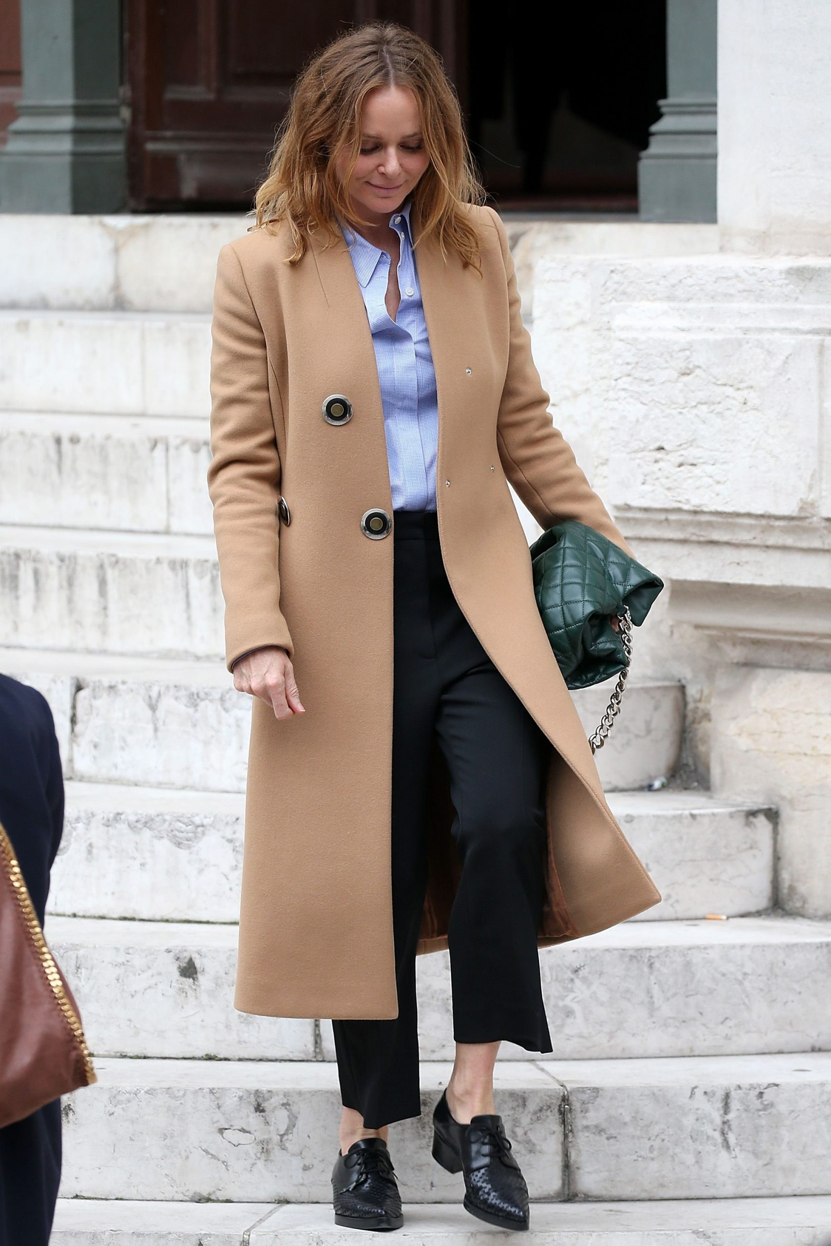 How To Style Camel Jacket