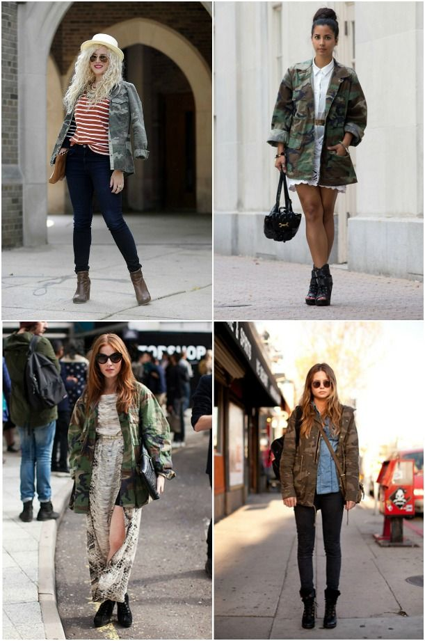 How To Style Camo Jacket