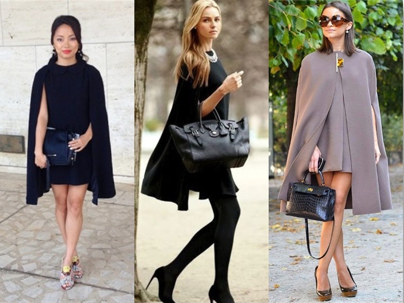 How To Style Cape Dress