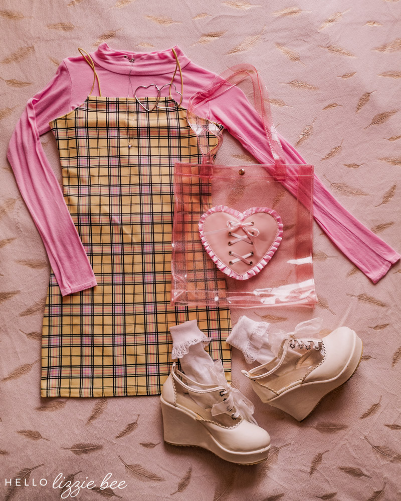 How To Style Checkered Dress