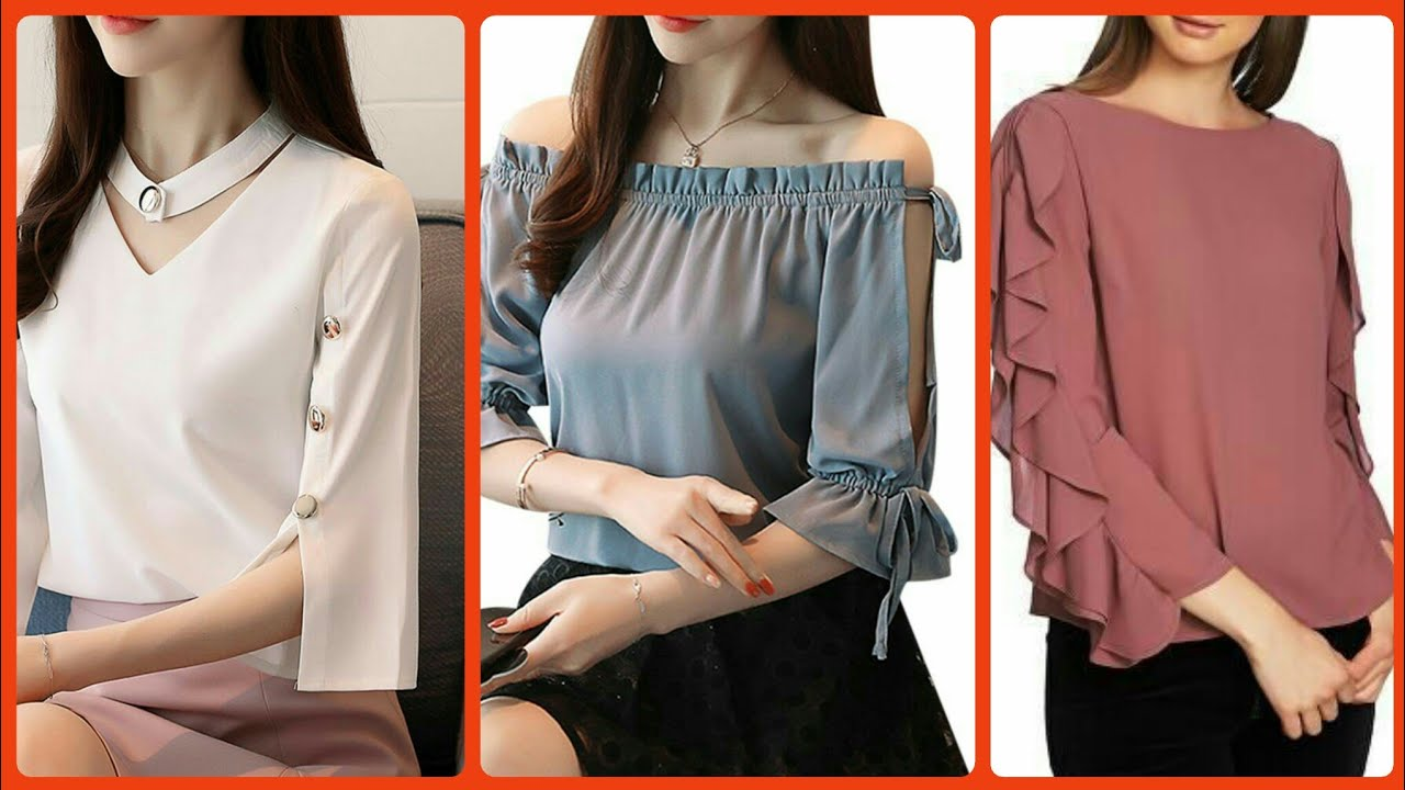 How To Style Chiffon Top