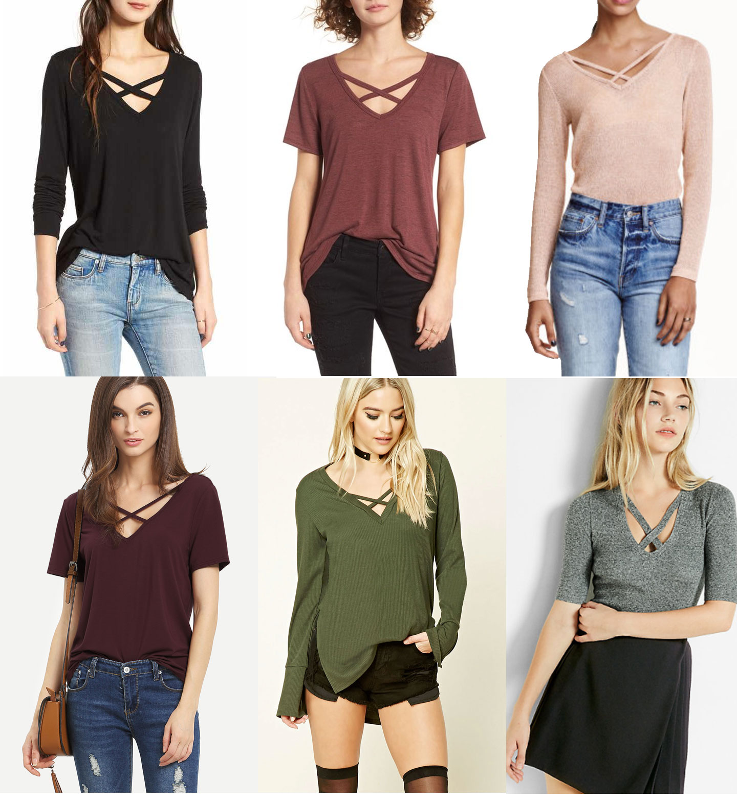 How To Style Criss Cross Top