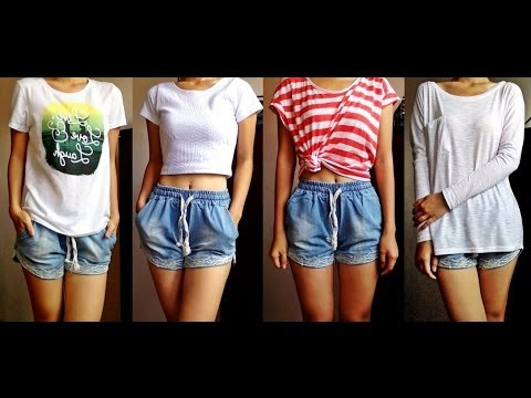 How To Style Elastic Waist Shorts