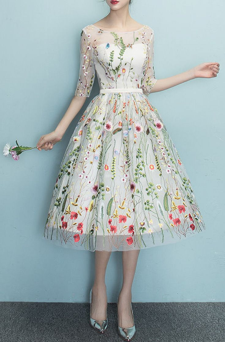 How To Style Floral Embroidered Dress