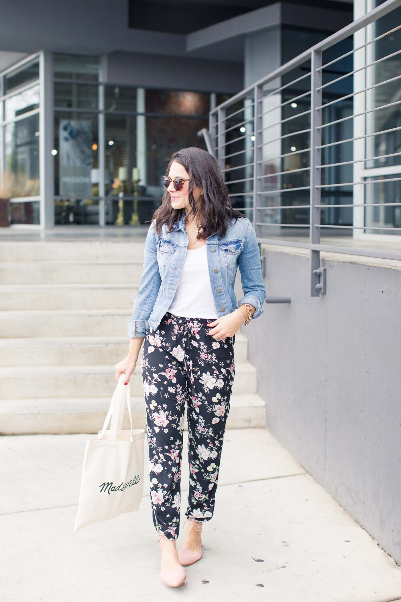 How To Style Floral Pants