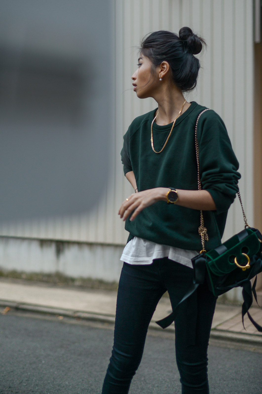 How To Style Green Sweater