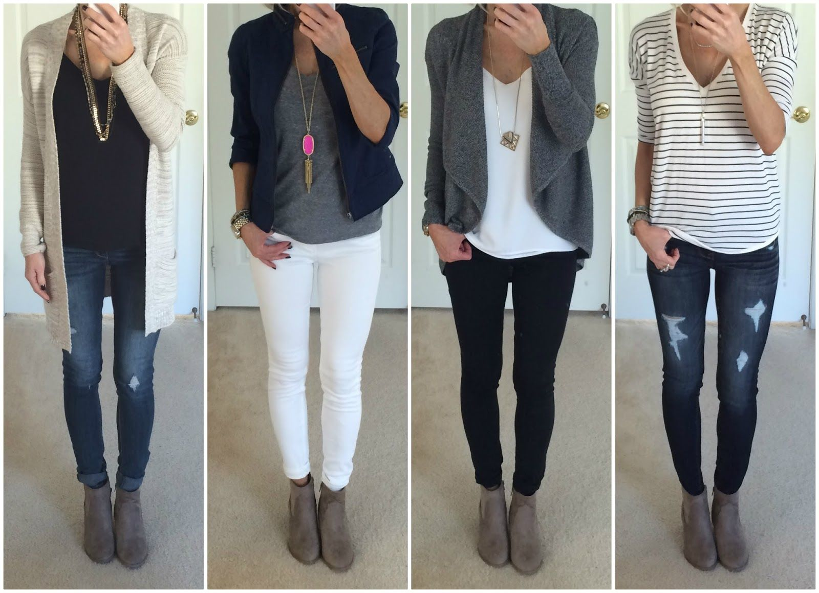 How To Style Grey Ankle Boots
