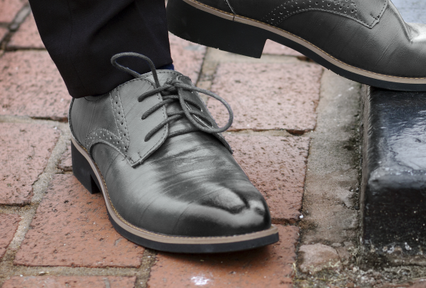 How To Style Grey Dress Shoes