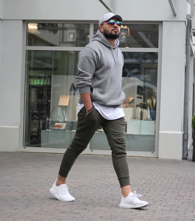 How To Style Grey Hoodie