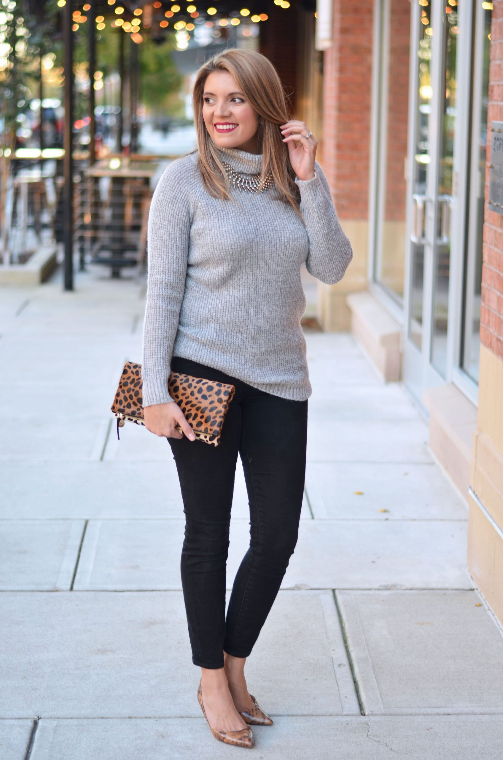 How To Style Grey Sweater