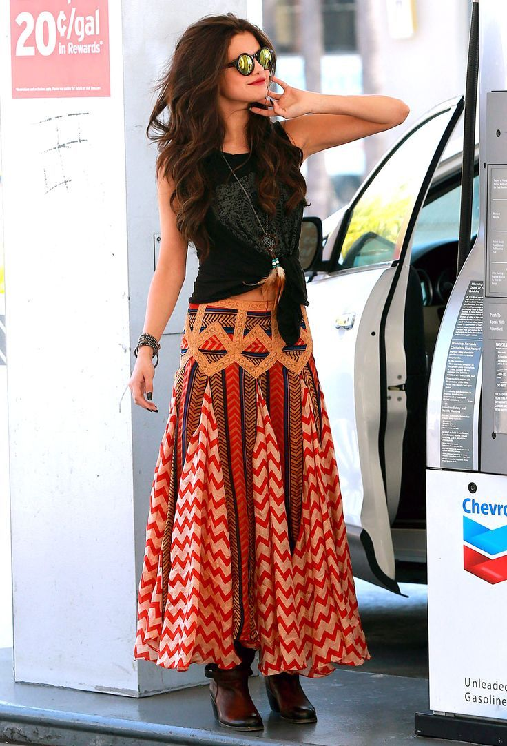 How To Style Gypsy Skirt