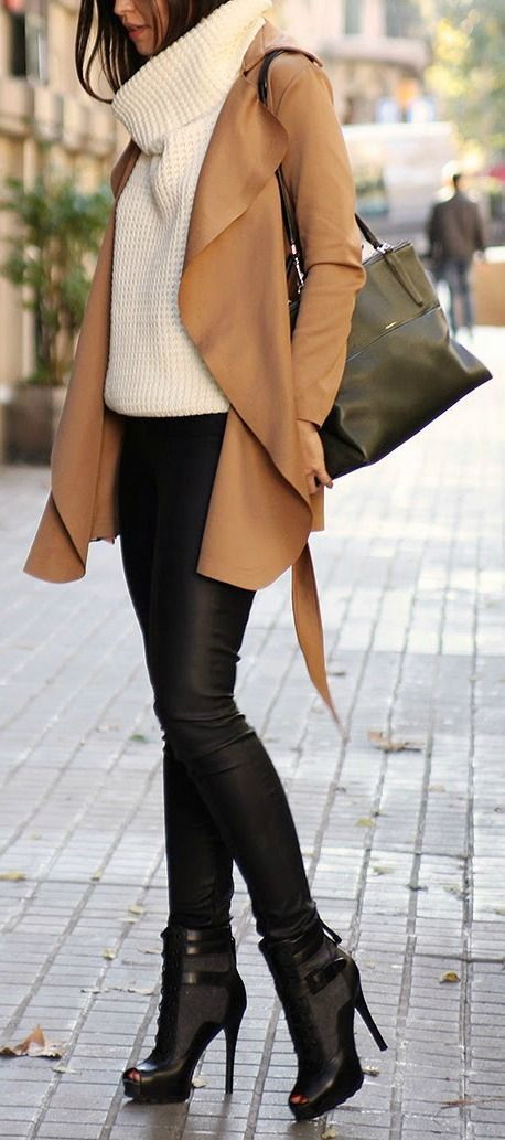 How To Style High Heel Boots