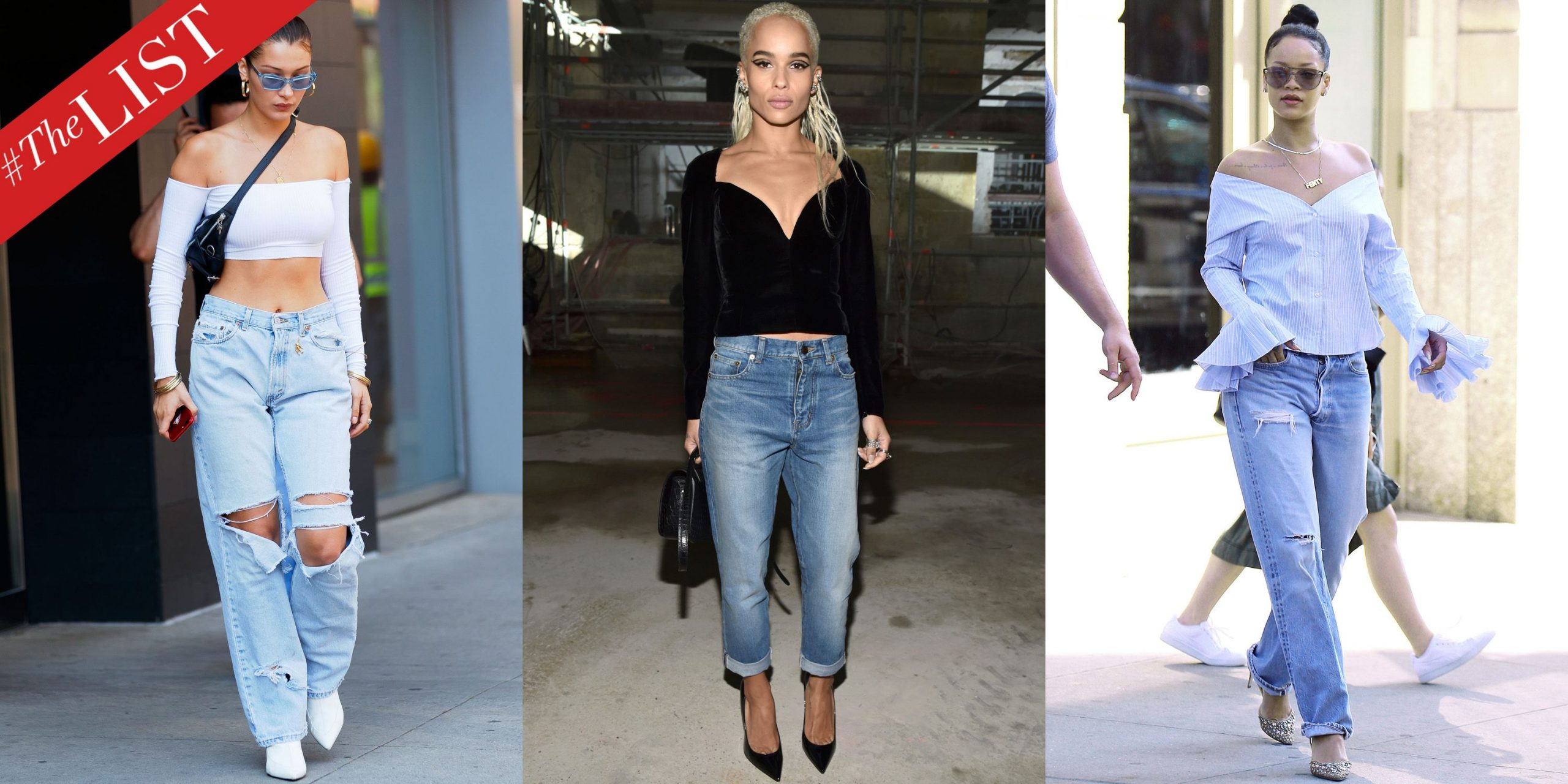 How To Style High Rise Boyfriend Jeans