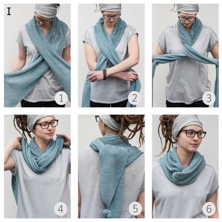 How To Style Knitted Shawl