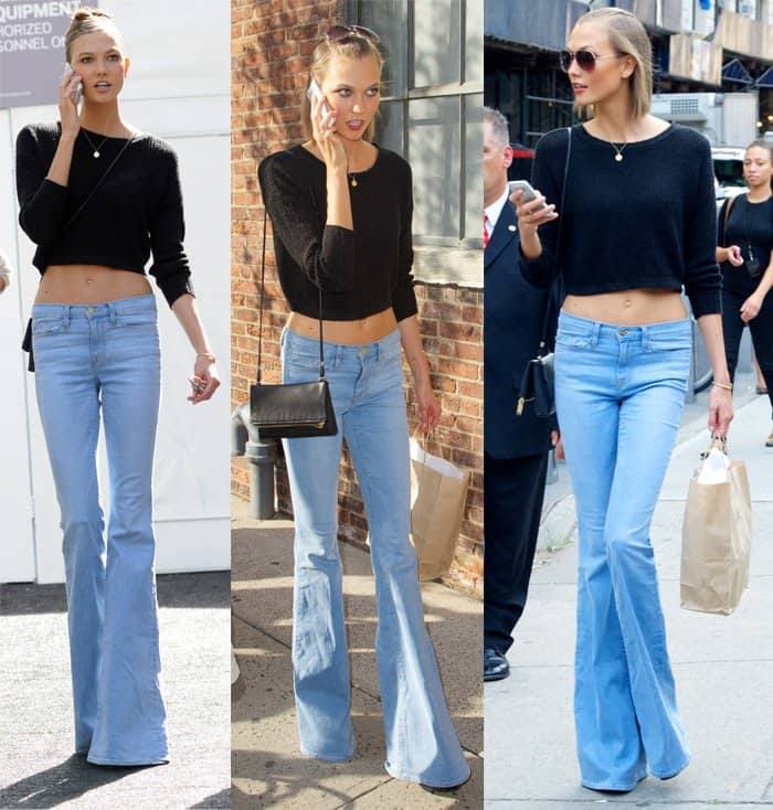 How To Style Low Rise Flare Jeans