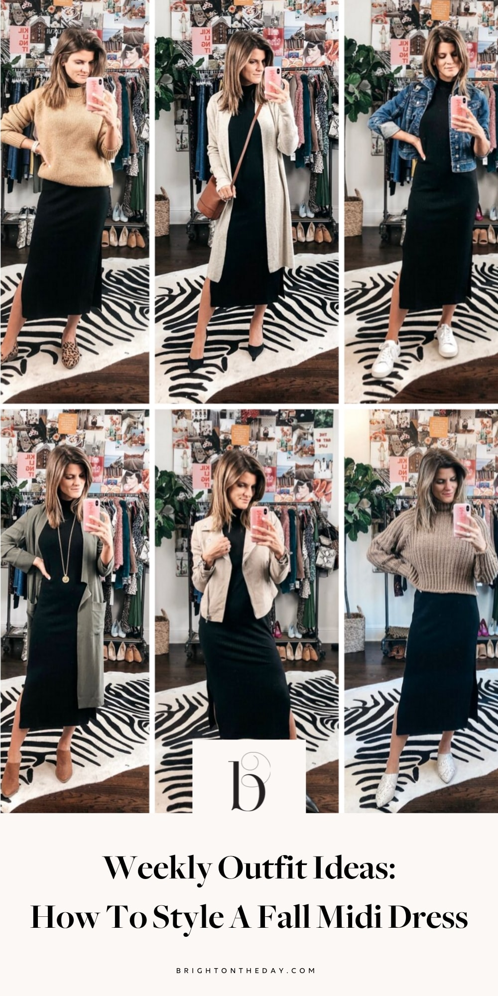How To Style Midi Dress Sleeves
