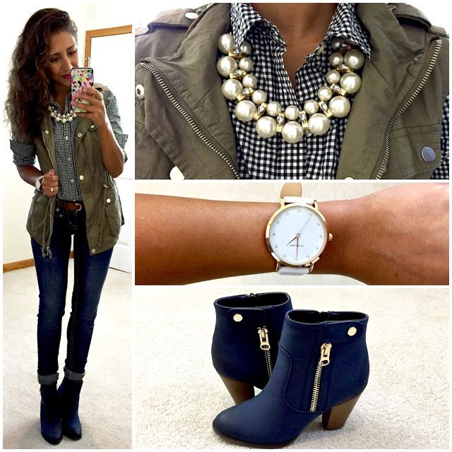 How To Style Navy Blue Boots