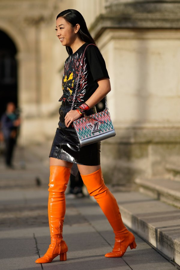 How To Style Orange Boots