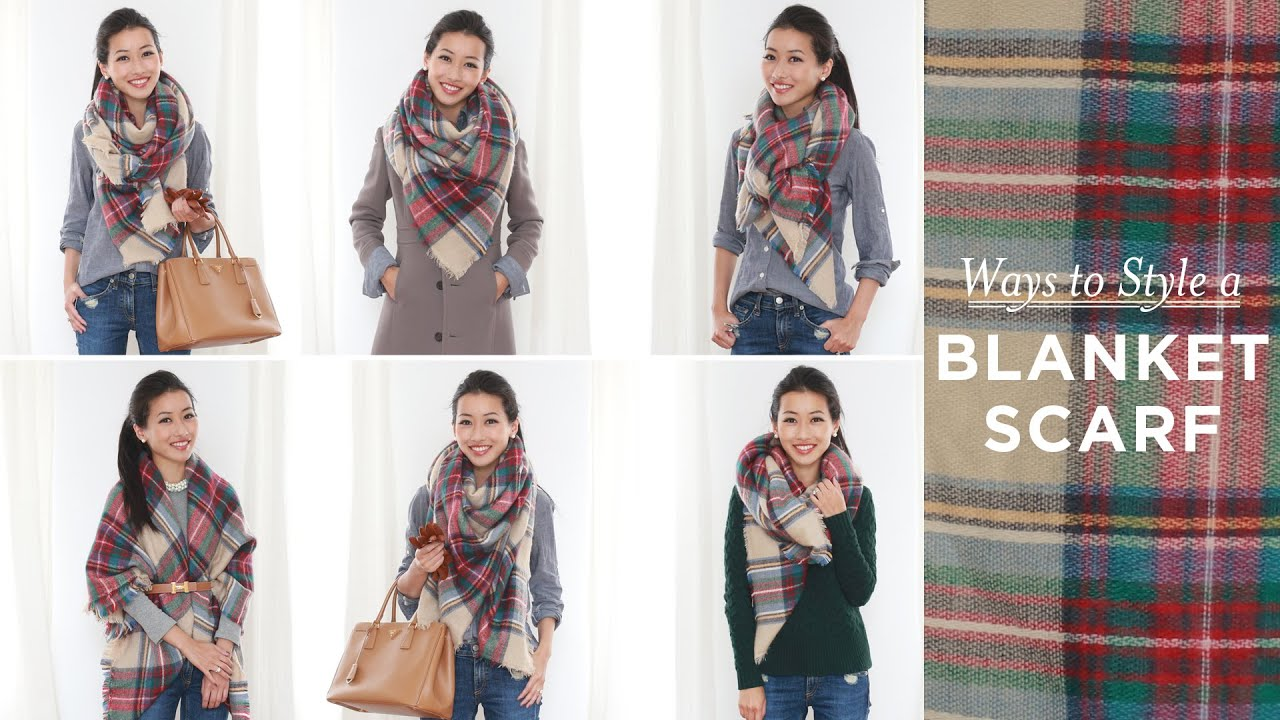 How To Style Oversized Scarf
