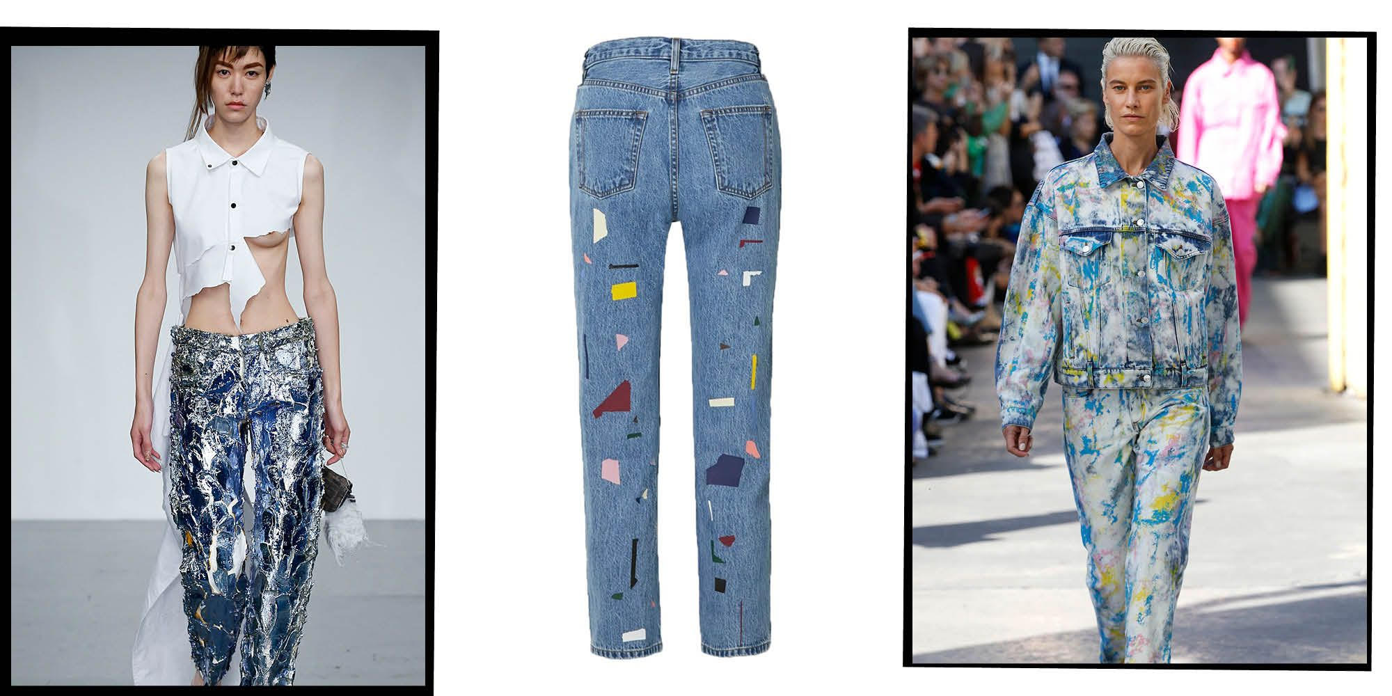 How To Style Painted Jeans