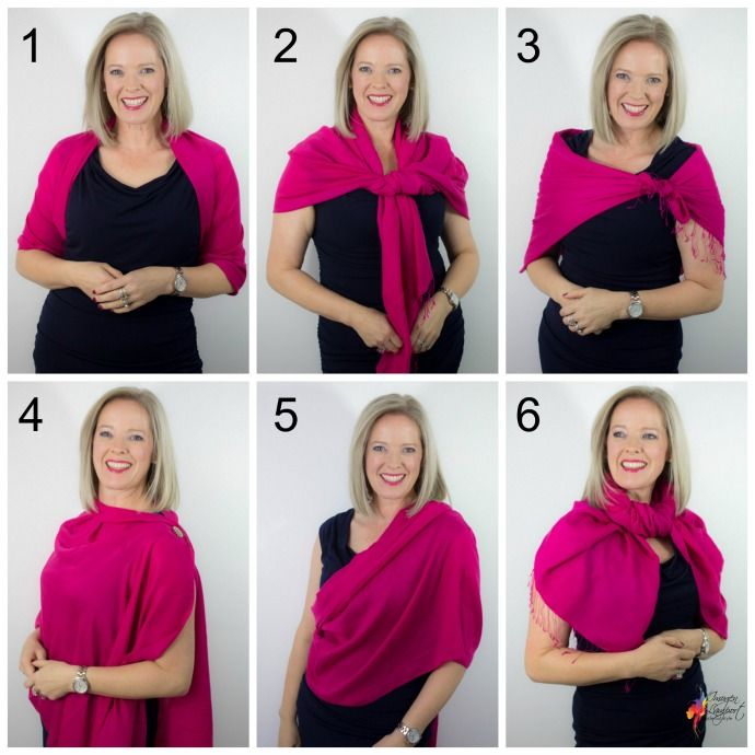 How To Style Pashmina Scarf