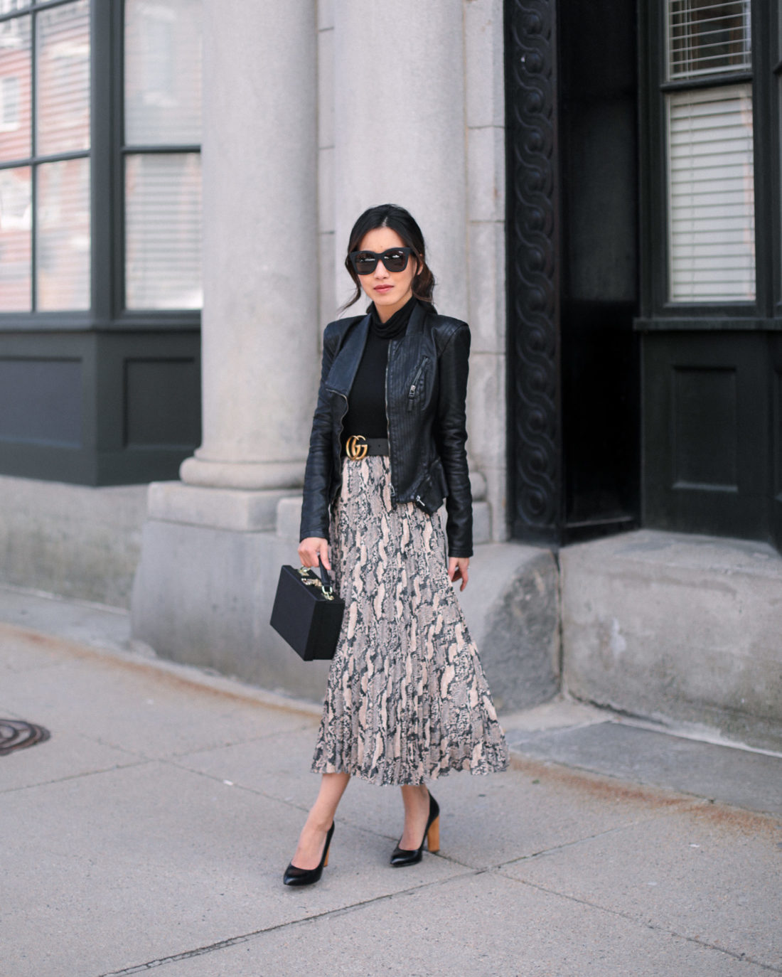 How To Style Petite Leather Jacket