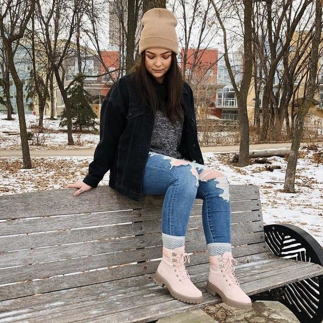 How To Style Pink Timberland Boots