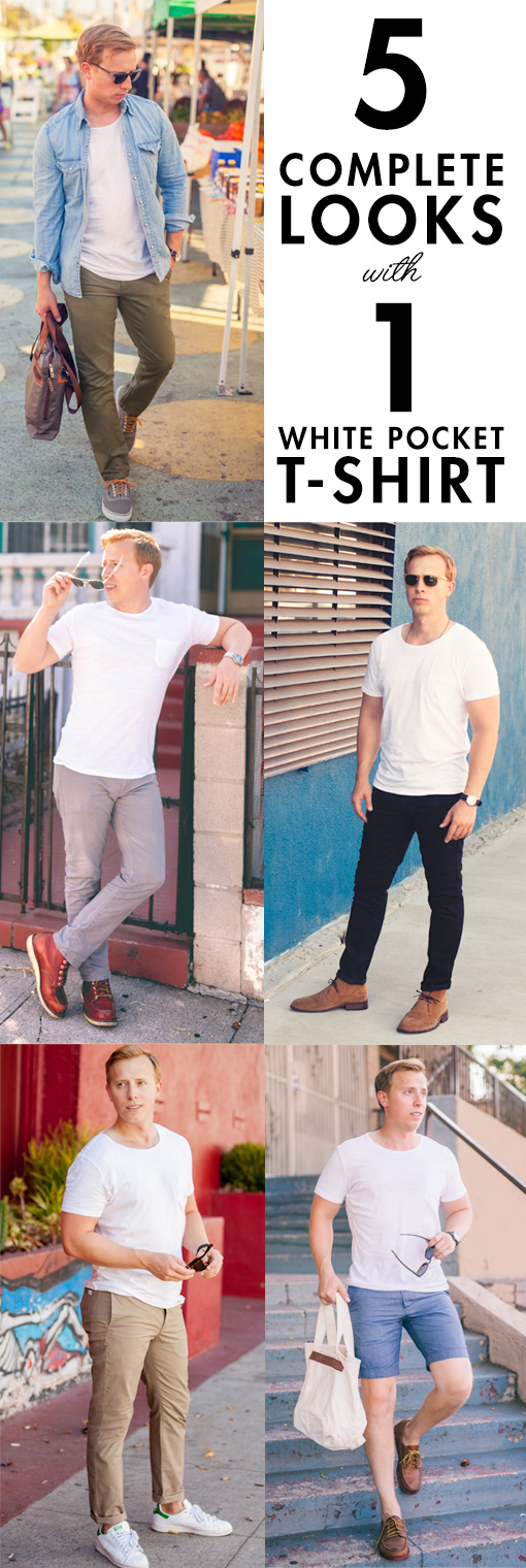 How To Style Pocket T Shirt