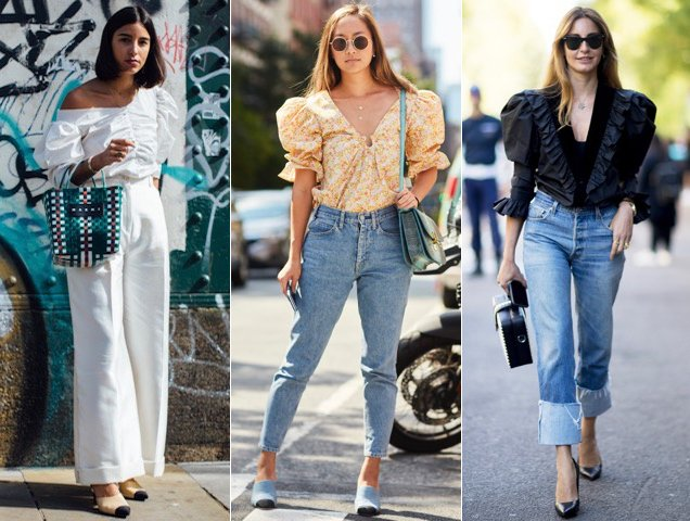 How To Style Puff Sleeve Blouse