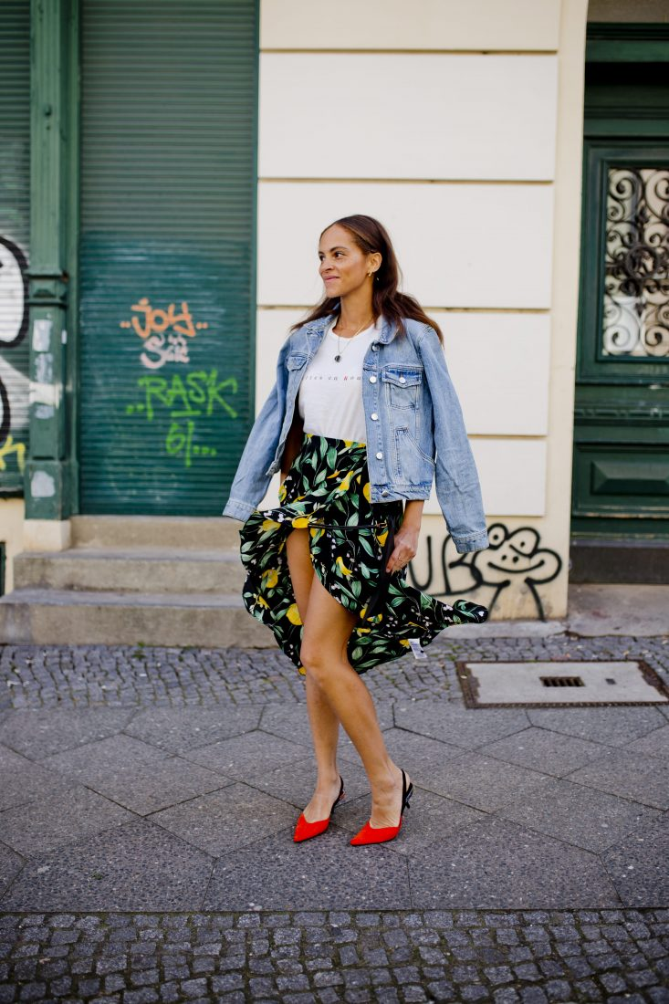 How To Style Red Kitten Heels