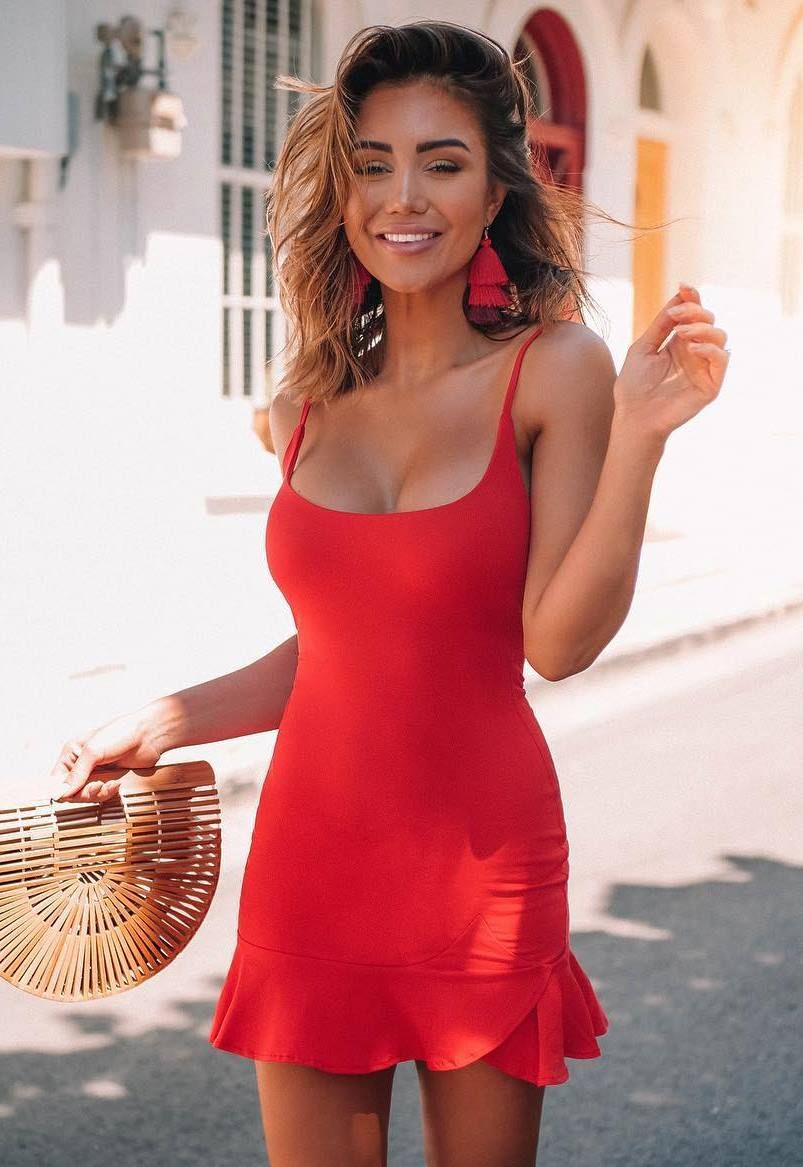 How To Style Red Mini Dress